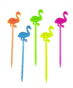 Bento gekleurde flamingo prikkers
